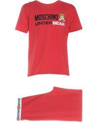 Moschino Pyjama - Rot