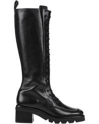 Aldo Castagna Knee Boots - Black