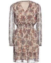 Angela Davis Short Dress - Natural