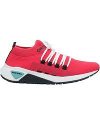 DIESEL Low Sneakers & Tennisschuhe - Rot