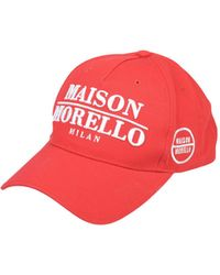 Frankie Morello Hats - Red