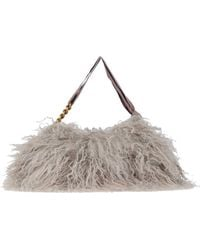 P.A.R.O.S.H. Handbag - Grey