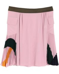 Iceberg Mini Skirt - Pink