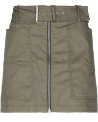 Department 5 Mini Skirt - Green