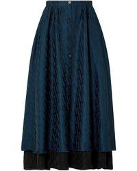 Vetements Long Skirt - Blue