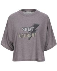 Saint Laurent - T-shirts - Lyst