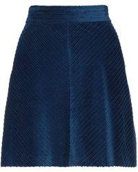 MAX&Co. Midi Skirt - Blue