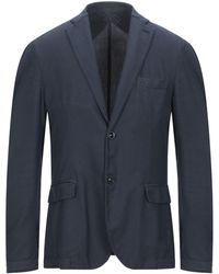 Panama Suit Jacket - Blue