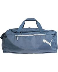PUMA Travel Duffel Bags - Blue