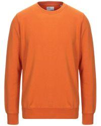 COLORFUL STANDARD Sweatshirt - Orange