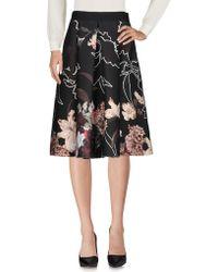 Clips - 3/4 Length Skirt - Lyst