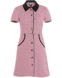 Maje Short Dress - Pink