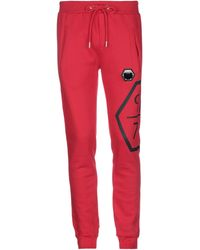 Philipp Plein Casual Trousers - Red