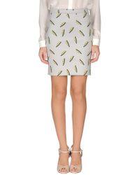 American Retro - Knee Length Skirt - Lyst