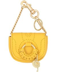 See By Chloé Key Ring - Yellow