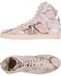 Hogan Rebel High-tops & Trainers - Pink