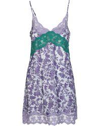 Preen By Thornton Bregazzi Short Dress - Purple