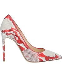 Gianmarco F. Pumps - Red