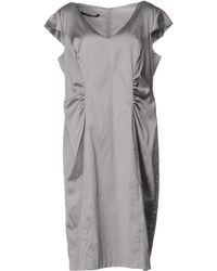 Martinelli Knee-length Dress - Grey