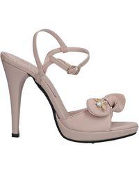 Divine Follie Sandals - Pink