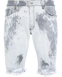 Represent Bermuda jeans - Grigio