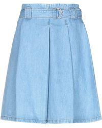 Acne Studios Denim Skirt - Blue