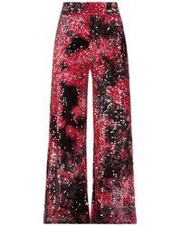 MÊME ROAD Pantalones - Rojo