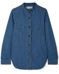 Apiece Apart Denim Shirt - Blue