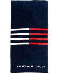 Tommy Hilfiger Beach Towel - Blue