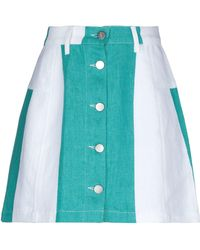Etudes Studio Denim Skirt - Green