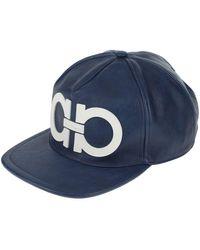 Ferragamo Cappello - Blu