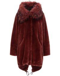 Liu Jo Teddy Coat - Red