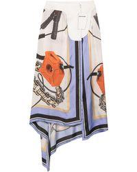 Each x Other Midi Skirt - White