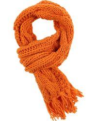 Pinko Oblong Scarf - Orange