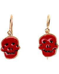 House of Waris Earrings - Red