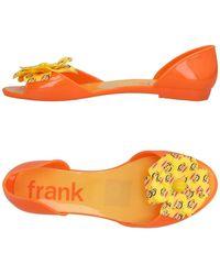 Paul Frank Ballet Flats - Orange