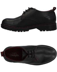 Wrangler Lace-up Shoe - Black