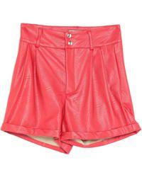 Odi Et Amo Shorts & Bermuda Shorts - Red