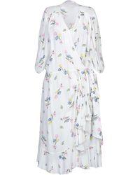 Vivetta Knee-length Dress - White