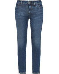 Sportmax Code Denim Trousers - Blue