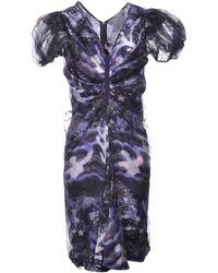 Giorgio Armani Short Dress - Purple