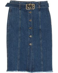 Pinko Denim Skirt - Blue