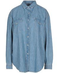 IRO Camicia jeans - Blu