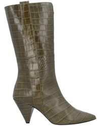 Wo Milano Knee Boots - Green