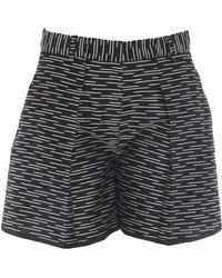 Victoria Beckham Bermuda Shorts - Black