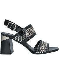 Laura Bellariva Sandals - Black