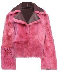 Vintage De Luxe Jacke - Pink