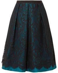 Draper James 3/4 Length Skirt - Blue