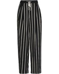 KATIA GIANNINI Trousers - Black
