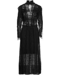 Soallure Vestido midi - Negro